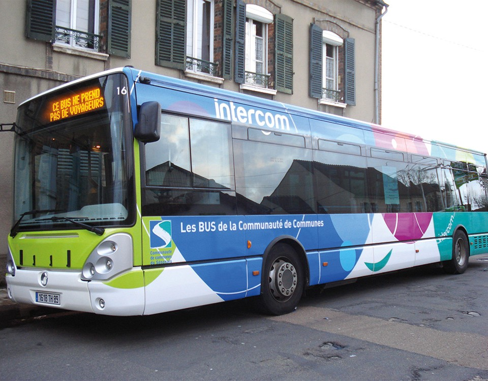 Décoration bus ville