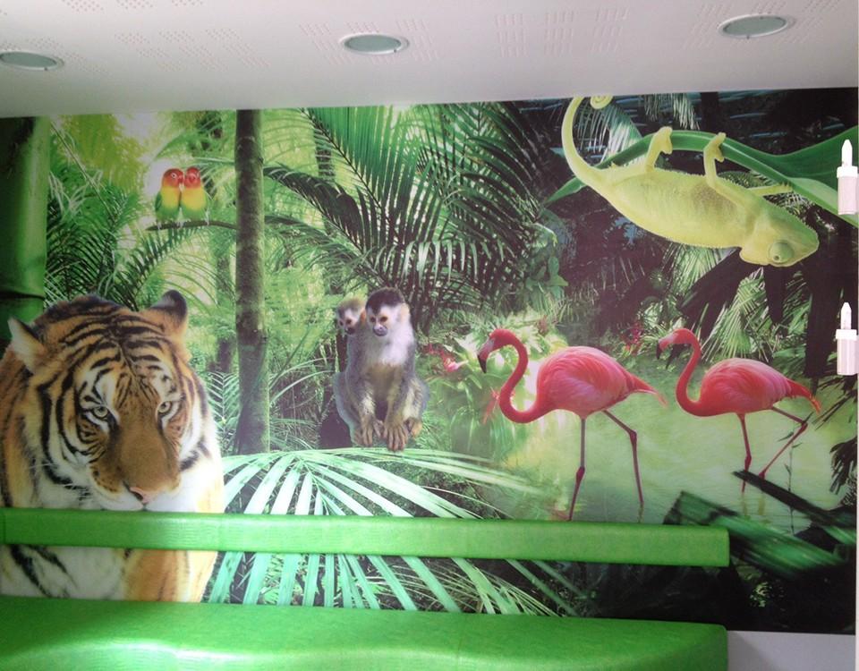 decor mural cabinet