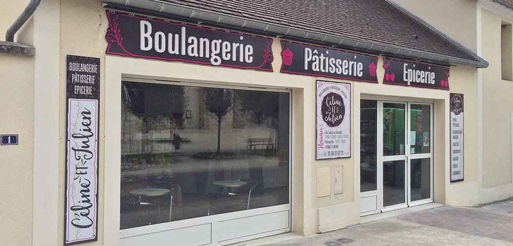 Enseigne Boulangerie - Pâtisserie