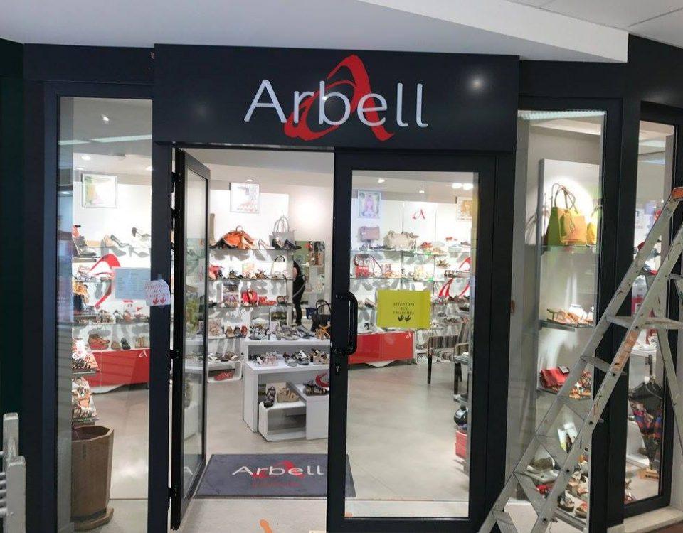 Enseigne Arbell création Alpha Publicité à Sens (89)